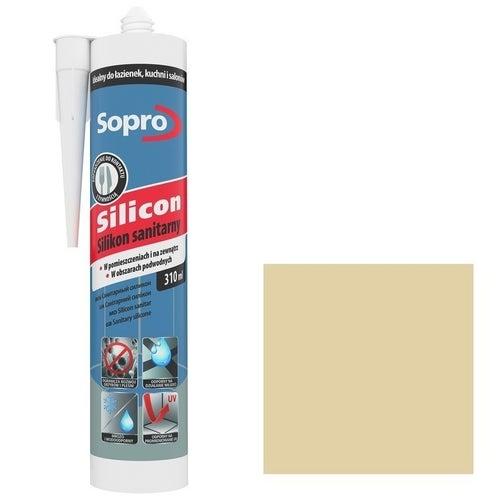 Silikon sanitarny Sopro 28 jaśmin 310 ml