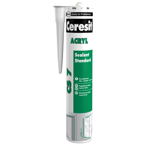 Akryl Ceresit CS7 biały 280ml