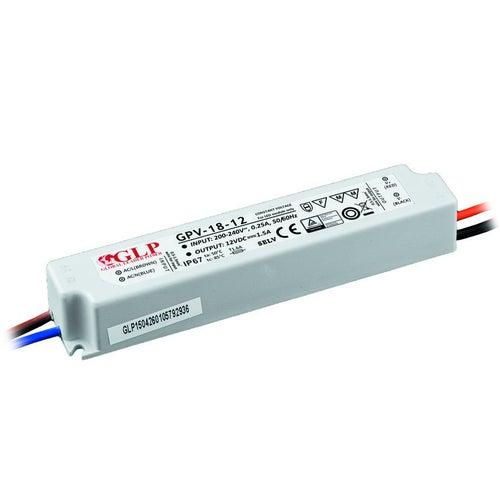 Zasilacz GPV LED 18W 12V IP67 hermetyczny