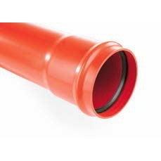 Rura kanalizacyjna zewnętrzna, PVC  SN 4, fi 200 mm, dł. 3,0 m