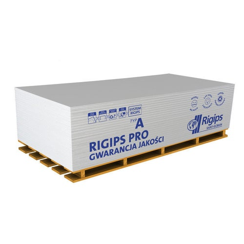 Płyta gipsowo-kartonowa standardowa Rigips PRO 1200x2600x12,5 mm GKB typ A