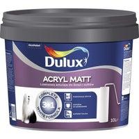 Farba Dulux Acryl Matt biała 10l