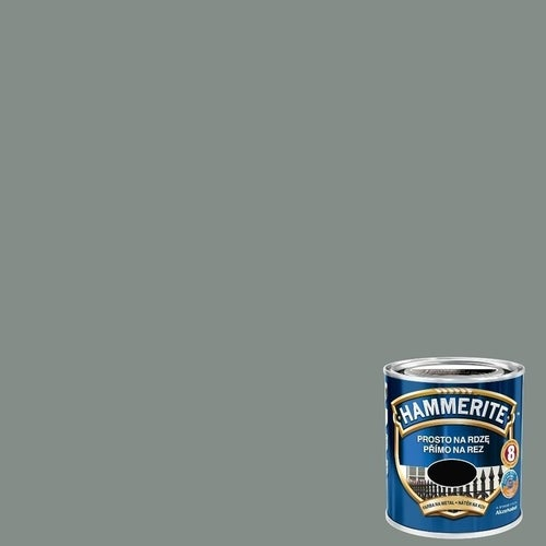 Farba antykorozyja Hammerite szary połysk 0,25l