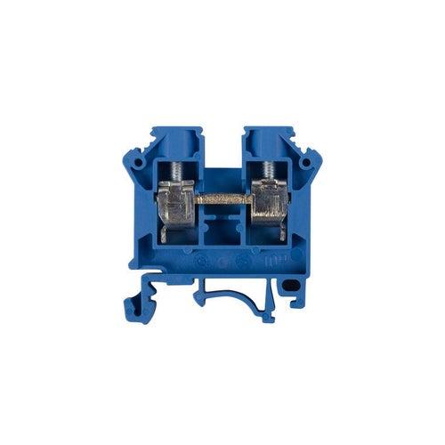 Złączka szynowa ZSG 10 2,5-10mm2 TS 32, 35 niebieska