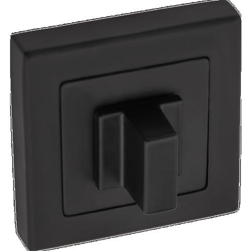 Szyld AMBQD-100 WC czarny mat kw 25x2,5x10 cm