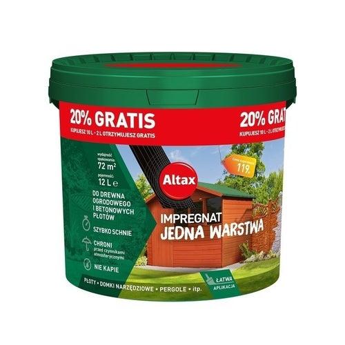 Impregnat ogrodowy Altax palisander 12l