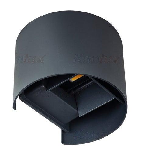 Oprawa elewacyjna Reka LED 7W 360lm 4000K IP54 grafitowa