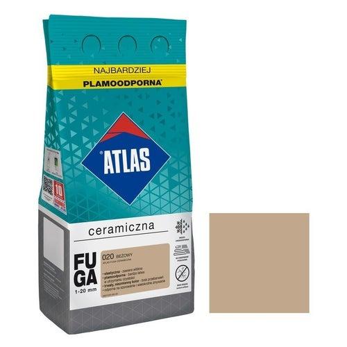 Fuga ceramiczna Atlas 020 beżowy 5kg