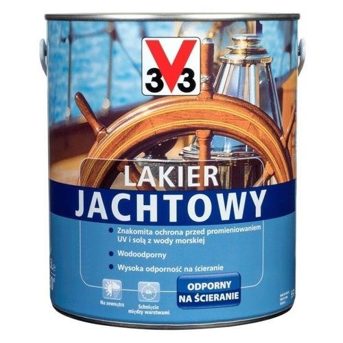 Lakier jachtowy V33 bezbarwny 2,5l