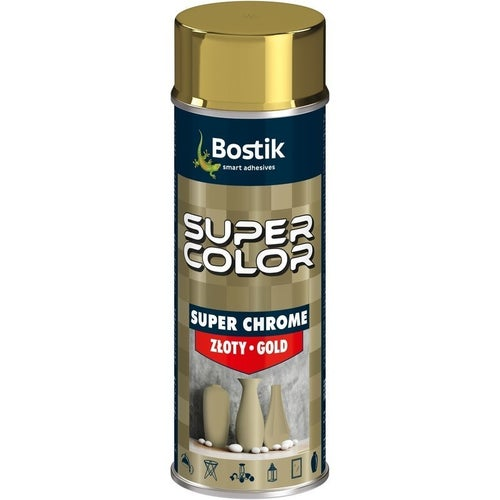 Spray Den Braven Super Color Chrome złoty 400ml