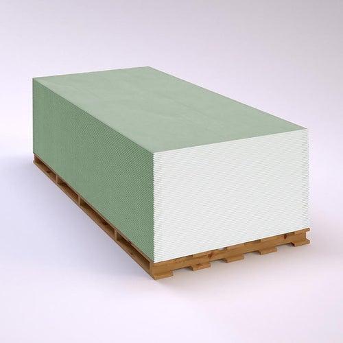 Płyta gipsowo-kartonowa wodoodporna EcoGips 1200x2000x12,5 mm GKBI typ H2