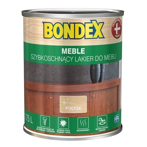 Lakier szybkoschnący Bondex Meble połysk 0,75l