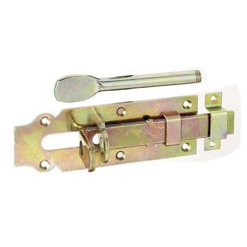 Zasuwa zamkowa do drzwi stajennych 160x56 mm