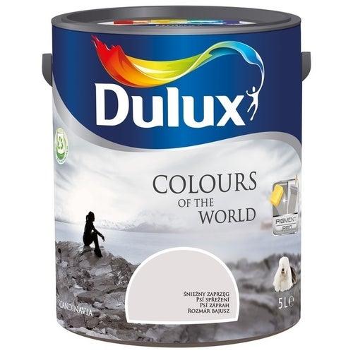 Farba Dulux Kolory Świata śnieżny zaprzęg 5l