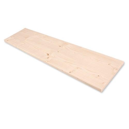 Półka drewniana sosnowa 18x400x1200 mm