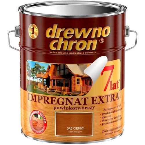 Impregnat Drewnochron Extra dąb ciemny 9l