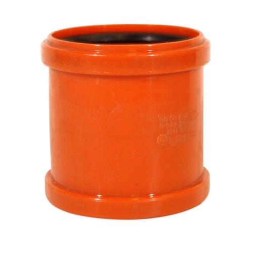 Łącznik kanalizacyjny zewnętrzny, PVC fi 110 mm