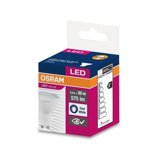 Żarówka LED 6,5W GU10 575lm 120st neutralna/4000K Osram
