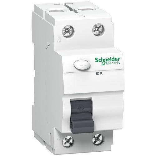 Wyłącznik różnicowoprądowy K60N 2P 25A 30mA typ A A9Z01225 Schneider