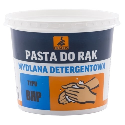 Pasta do rąk mydlana detergentowa Dragon 0,5kg