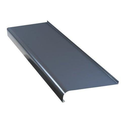 Parapet zewnętrzny stalowy grafit 20x200cm