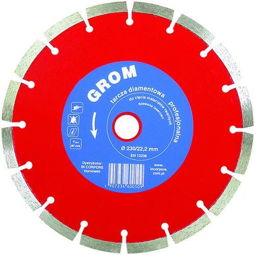 Tarcza diamentowa segmentowa 350x25,4 mm GROM