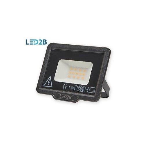 Naświetlacz MH LED 10W 800lm 6000K IP65 czarny