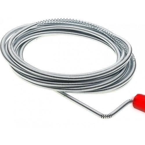 Spirala kanalizacyjna fi 6mm - ocynkowana 3m