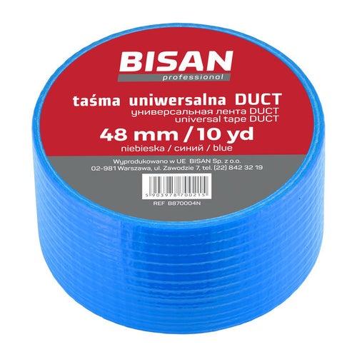 Taśma izolacyjna uniwersalna Duct 48 mm/10 yd 10 mb, niebieska
