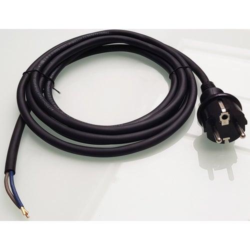 Przewód z wtyczką 3m 3x1 H05RR-F guma