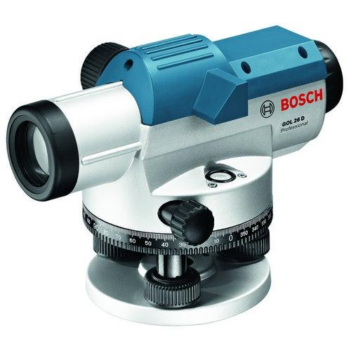 Niwelator optyczny GOL26D + statyw BT160 + łata miernicza GR500 Bosch