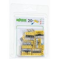 Szybkozłączka mini Wago 5x0,5-2,5mm2 20szt