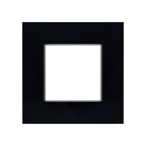 Polmark Rosa ramka szkło czarne pojedyncza