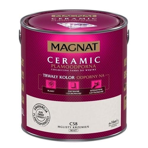 Farba Magnat Ceramic mglisty krzemień 2,5l