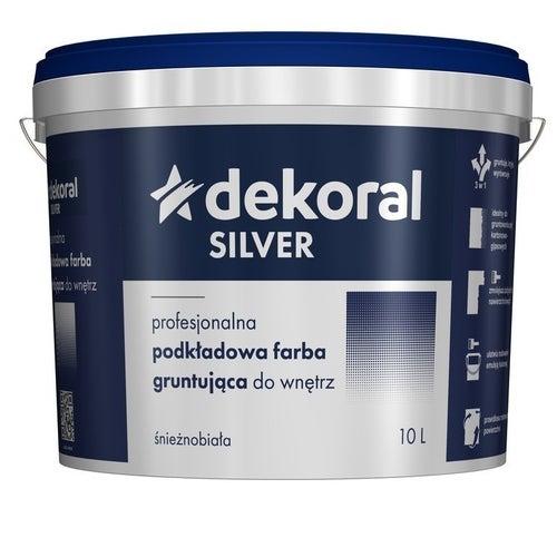 Farba podkładowo-gruntująca Dekoral Silver 10 l