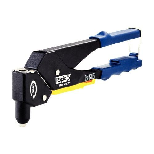 Nitownica ręczna obrotowa 3,2-4,8 mm RP60 MULTI Rapid, zestaw w walizce