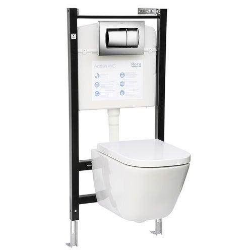 Zestaw podtynkowy WC Roca Active Gap A893103070