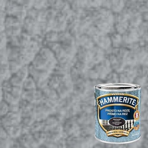 Farba antykorozyja Hammerite srebrno-szary młotkowy 0,7l