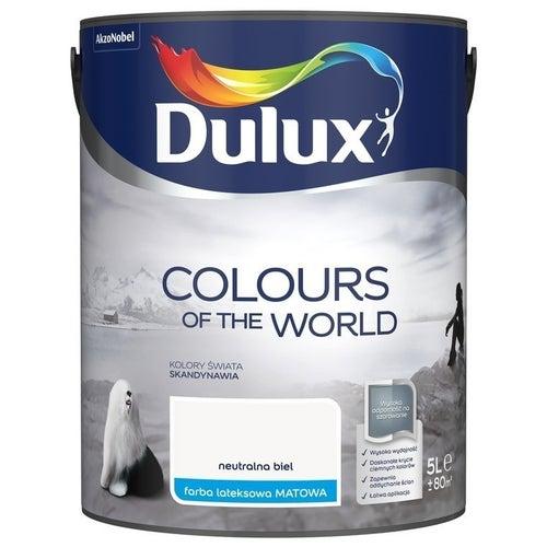 Farba Dulux Kolory Świata neutralna biel 5l