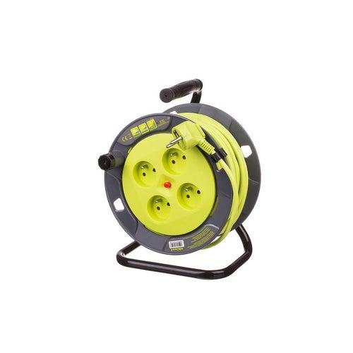 Przedłużacz bębnowy Lemonka 20m 3x1mm2 OMY 4x2P+Z
