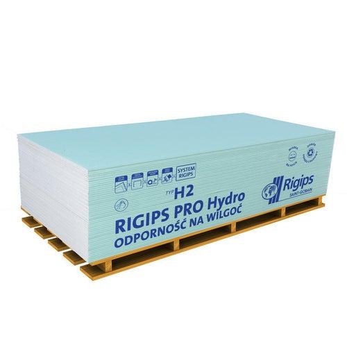 Płyta gipsowo-kartonowa impregnowana Rigips PRO Hydro 1200x2600x12,5 mm GKBI typ H2