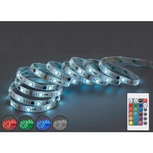Taśma LED zestaw RGB IP20 5m z zasilaczem sterowanie przez WIFI