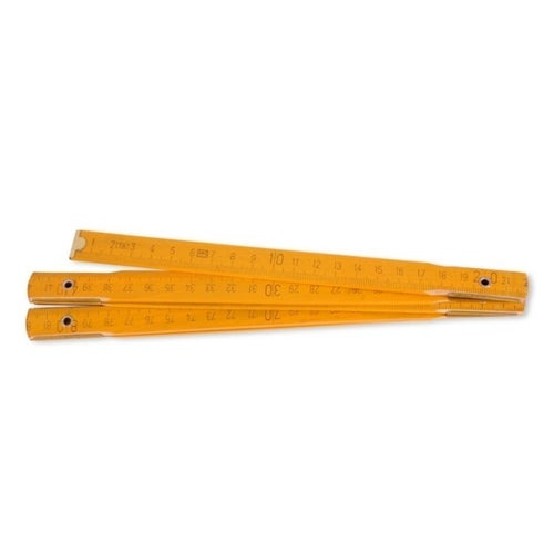 Miara drewniana składana 1 m