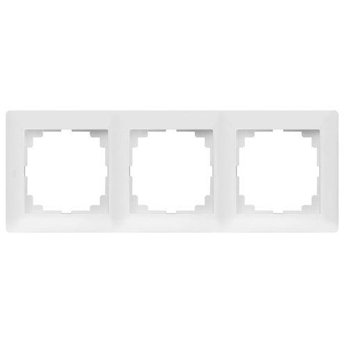 Elektroplast Astoria biały ramka potrójna