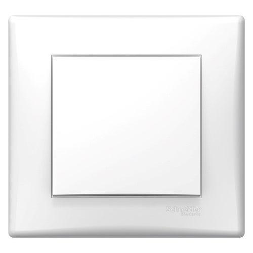 Schneider Sedna biały przycisk