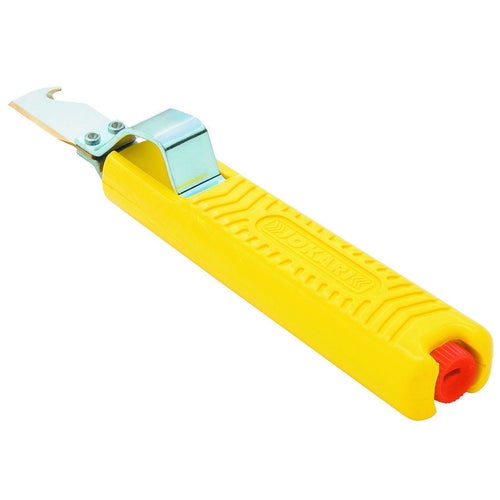 Nóż do izolacji z kabli o przekroju okrągłym