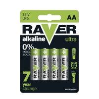 Bateria Raver LR6 (AA) 1,5V 4szt