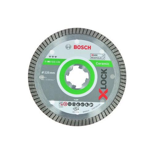Tarcza diamentowa pełna premium 125x1,4 mm X-LOCK Bosch