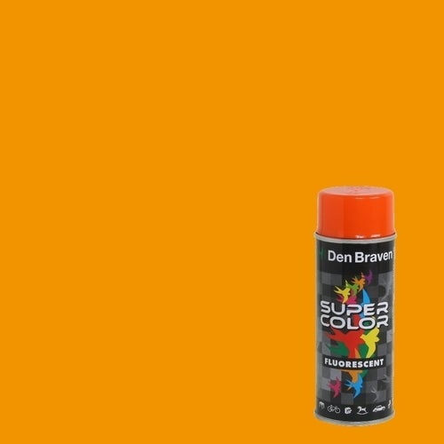 Spray Den Braven Super Color pomarańczowy 400ml