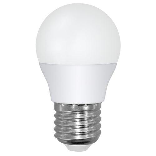 Żarówka LED 8W E27 680lm kulka ciepło biała
